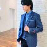 銀座店人気No.1☆MOONツイード使用ジャケットのご紹介